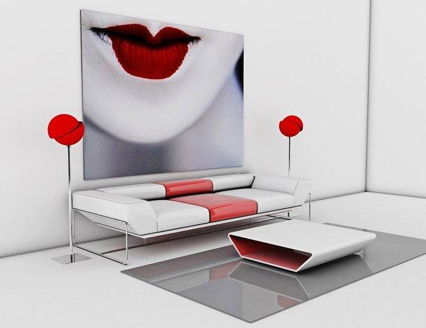 Фотография: Мебель и свет в стиле Современный, Квартира, Дома и квартиры – фото на INMYROOM