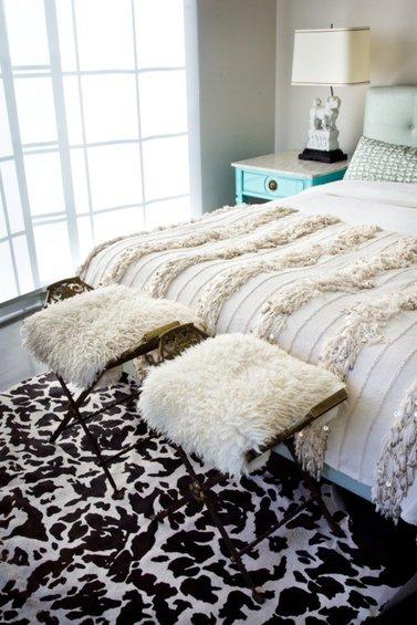 Фотография: Спальня в стиле Скандинавский, Декор интерьера, Дом, Декор дома, Цвет в интерьере – фото на INMYROOM