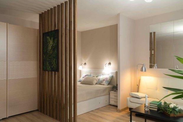Фотография:  в стиле , Квартира, Natuzzi, Советы, 2 комнаты, Ульяновск, бюджетный ремонт, пятьсот тысяч рублей – фото на INMYROOM