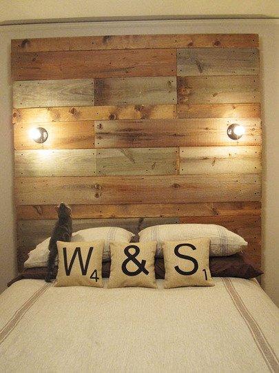 Фотография: Спальня в стиле , Декор интерьера, DIY, Кровать – фото на INMYROOM