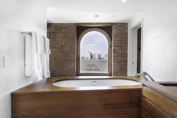 Фотография: Ванная в стиле Прованс и Кантри, Лофт, Современный, Квартира, Дома и квартиры – фото на INMYROOM
