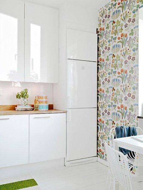 Фотография: Кухня и столовая в стиле Современный, Текстиль, Стиль жизни, Советы, Цветы – фото на INMYROOM