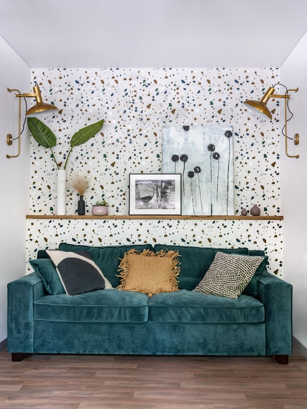 Фотография:  в стиле , Малогабаритная квартира, Квартира, Мебель и свет, энциклопедия_мебель – фото на INMYROOM
