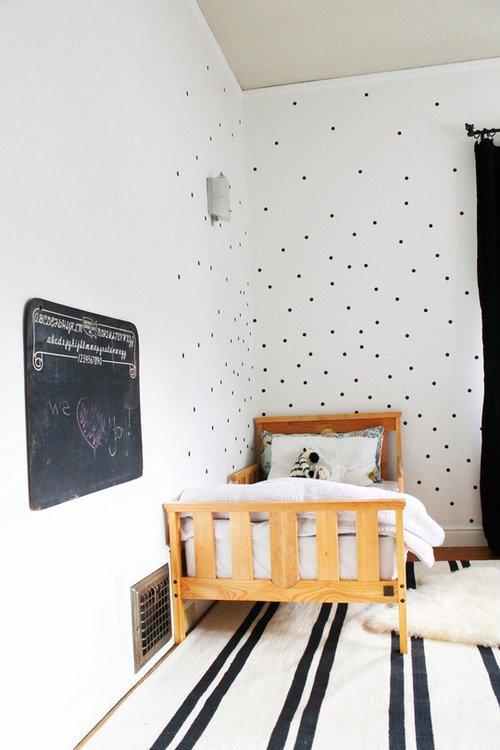 Фотография: Детская в стиле Современный, Декор интерьера, Интерьер комнат, Обои – фото на INMYROOM