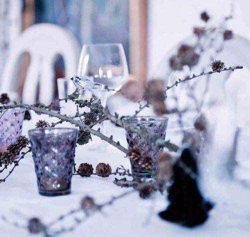 Фотография: Декор в стиле Скандинавский, Декор интерьера, Праздник, Новый Год, Сервировка стола – фото на InMyRoom.ru