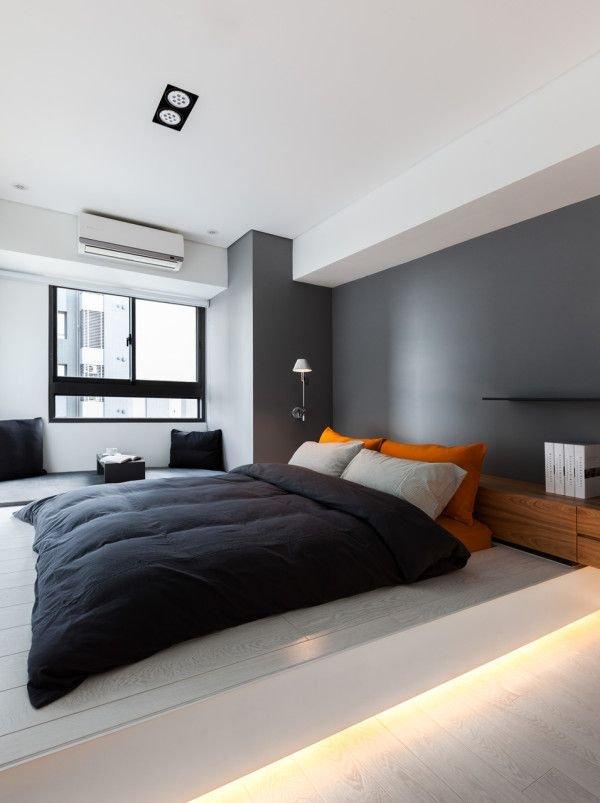 Фотография: Спальня в стиле Хай-тек, Декор интерьера, Дизайн интерьера, Цвет в интерьере – фото на INMYROOM