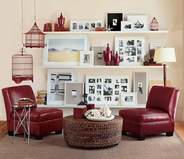 Фотография: Гостиная в стиле , Декор интерьера, Дом, Декор дома, Праздник – фото на INMYROOM