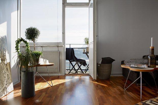 Фотография: Гостиная в стиле Скандинавский, Современный, Декор интерьера, Малогабаритная квартира, Квартира, Дома и квартиры – фото на INMYROOM