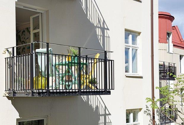 Фотография:  в стиле Скандинавский, Современный, Малогабаритная квартира, Квартира, Швеция, Мебель и свет, Дома и квартиры, Белый – фото на INMYROOM