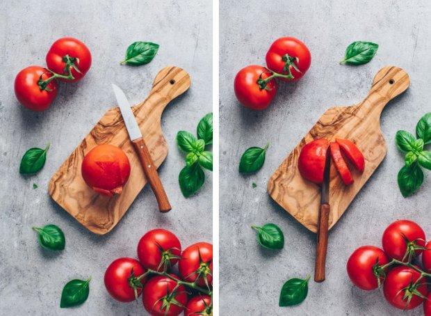 Фотография: Кухня и столовая в стиле Минимализм, Первое блюдо, Суп, Помидоры, Кулинарные рецепты, Варить, 15 минут, Европейская кухня, Просто, Томаты – фото на INMYROOM