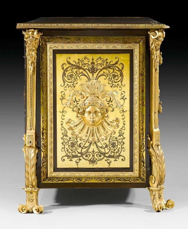 Анри-Шарль Буль. Комод. 1720–1730. Предположительно изготовлен во Франции.