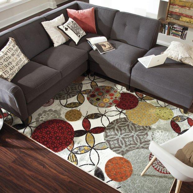 Фотография: Гостиная в стиле Современный, Декор интерьера, Текстиль, Тема месяца – фото на INMYROOM