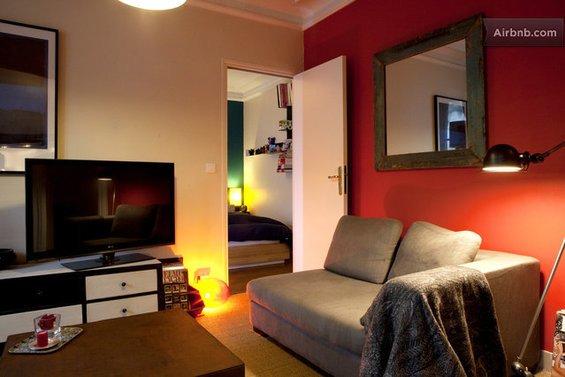 Фотография:  в стиле , Декор интерьера, Малогабаритная квартира, Квартира, Дома и квартиры, Airbnb – фото на INMYROOM