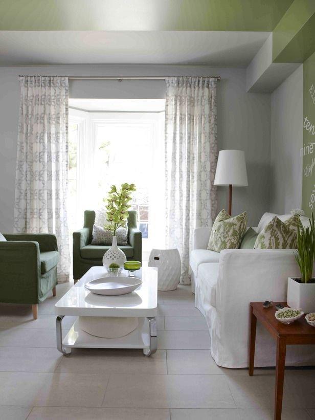 Фотография: Гостиная в стиле Скандинавский, Декор интерьера, Дизайн интерьера, Цвет в интерьере, Потолок – фото на INMYROOM