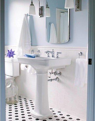 Фотография: Ванная в стиле Прованс и Кантри, Декор интерьера, Хранение, Интерьер комнат, Советы – фото на INMYROOM