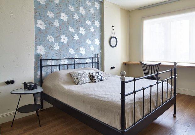 Фотография: Спальня в стиле Классический, Скандинавский, Современный, Квартира, Мебель и свет, Белый, Минимализм, Серый – фото на INMYROOM