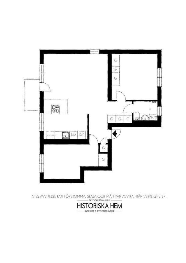 Фотография: Планировки в стиле , Скандинавский, Декор интерьера, Швеция, Стокгольм – фото на INMYROOM