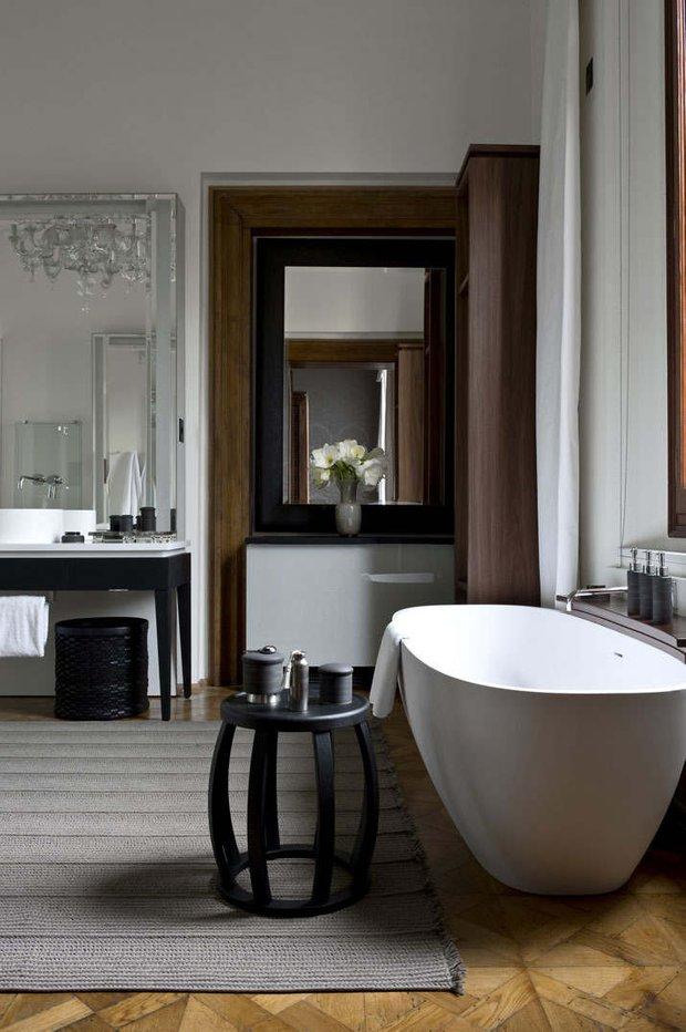 Фотография: Ванная в стиле Современный, Дом, Италия, Дома и квартиры, Отель – фото на InMyRoom.ru