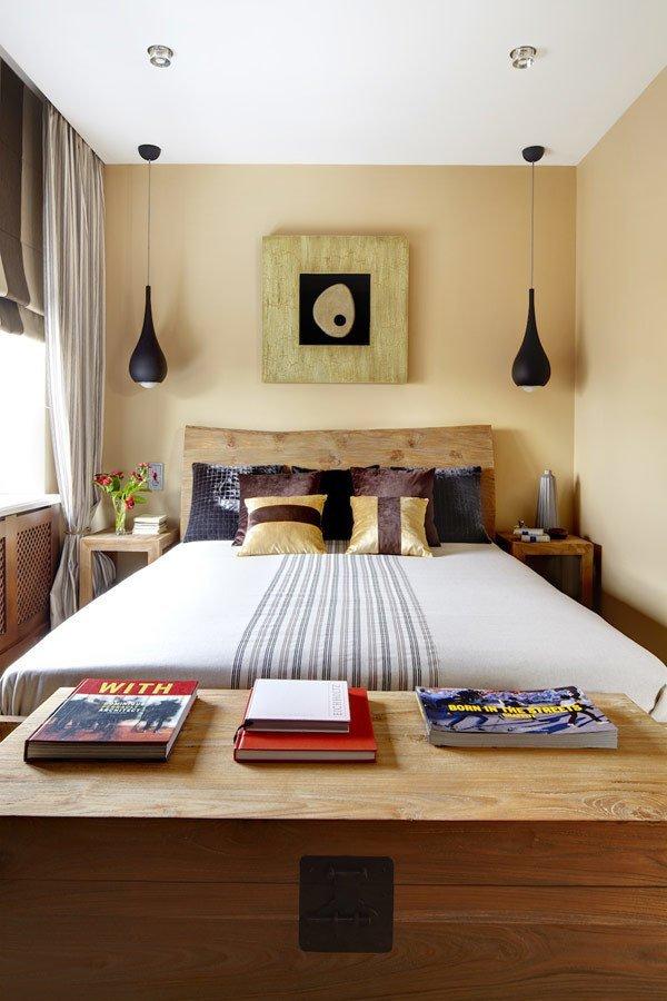 Фотография: Спальня в стиле Минимализм, Эко, Квартира, Советы, Ремонт на практике – фото на InMyRoom.ru