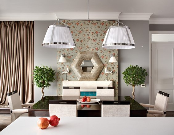 Фотография: Кухня и столовая в стиле Современный, Классический, Эклектика, Квартира, Дома и квартиры – фото на INMYROOM