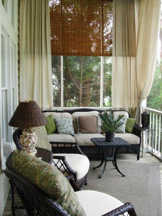 Фотография: Балкон, Терраса в стиле Восточный, Декор интерьера, Текстиль, Советы, Шторы, Балдахин – фото на INMYROOM