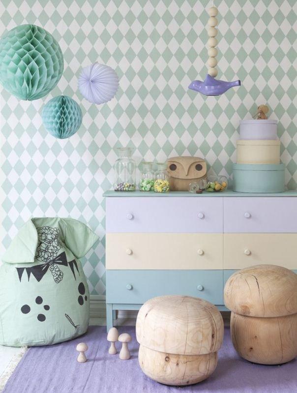 Фотография: Детская в стиле , Декор интерьера, Дизайн интерьера, Цвет в интерьере, Белый – фото на INMYROOM