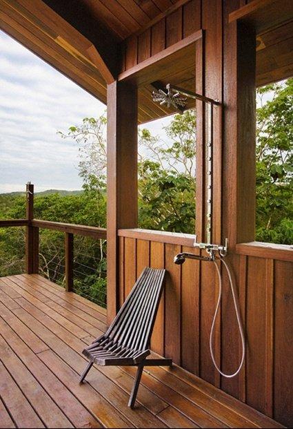 Фотография: Балкон, Терраса в стиле Современный, Ванная, Дом, Ландшафт, Стиль жизни, Дача – фото на INMYROOM