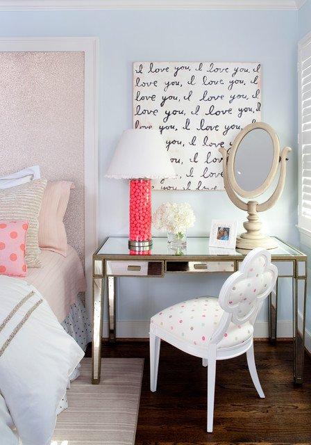 Фотография: Спальня в стиле Прованс и Кантри, Кабинет, Интерьер комнат – фото на INMYROOM