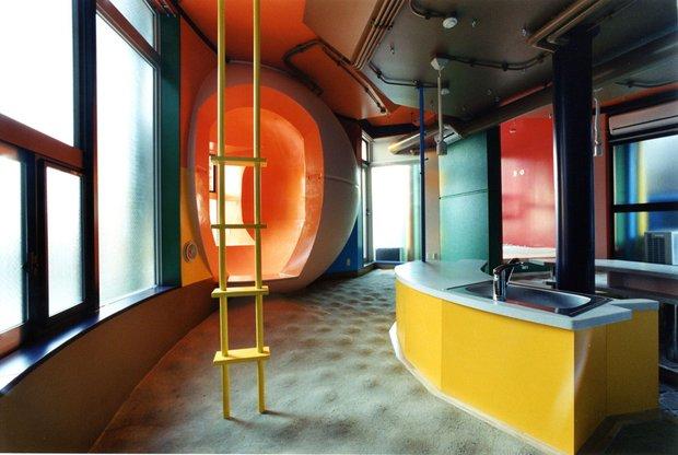 Интерьер квартиры, Reversible-destiny Lofts Mitaka