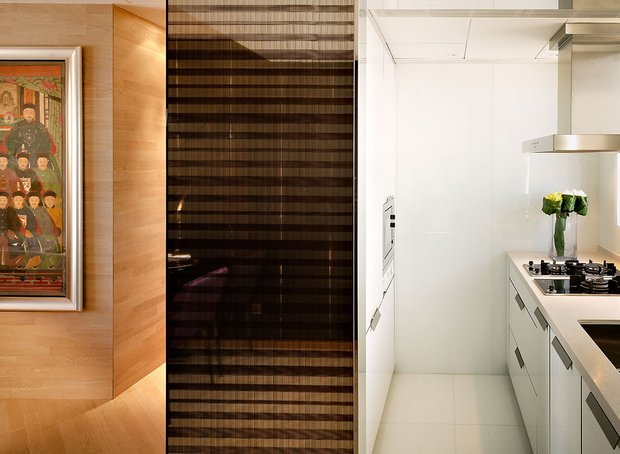 Фотография: Кухня и столовая в стиле Современный, Малогабаритная квартира, Квартира, Дома и квартиры, Квартиры – фото на INMYROOM