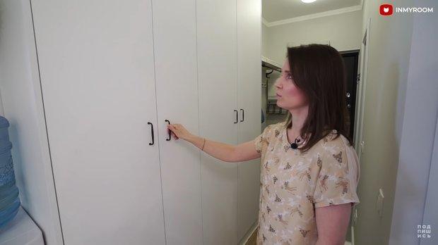 Фотография:  в стиле , Прихожая, Квартира, Советы, Москва, 1 комната – фото на INMYROOM