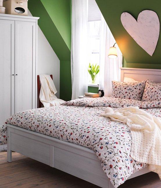 Фотография: Спальня в стиле Прованс и Кантри, Интерьер комнат, IKEA – фото на InMyRoom.ru