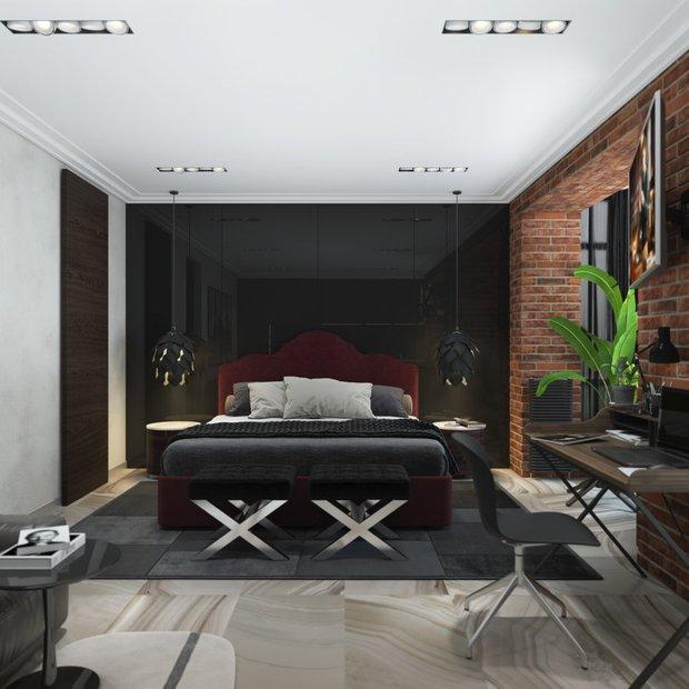 Фотография: Спальня в стиле Лофт, Квартира, Студия, Советы, Гид – фото на InMyRoom.ru