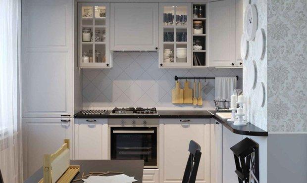 Фотография:  в стиле , Квартира, Перепланировка, мебель ИКЕА – фото на INMYROOM