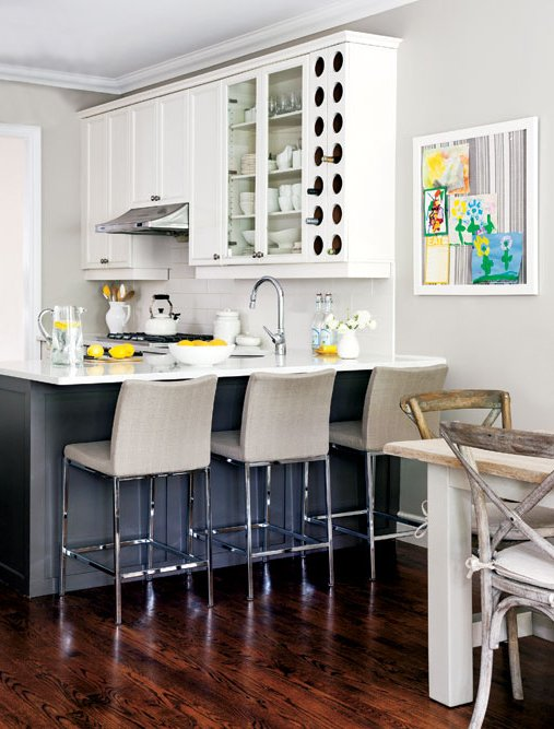 Фотография: Кухня и столовая в стиле Современный, Декор интерьера, Дом, Цвет в интерьере, Дома и квартиры, Желтый – фото на INMYROOM