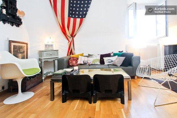 Фотография: Гостиная в стиле Восточный, Декор интерьера, Малогабаритная квартира, Квартира, Дома и квартиры, Airbnb – фото на INMYROOM