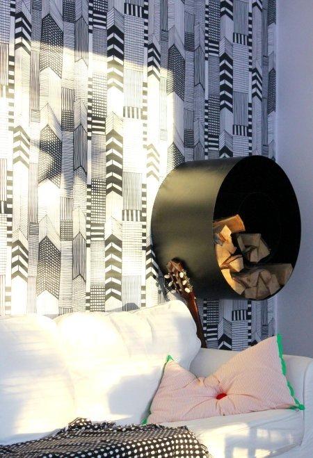 Фотография: Декор в стиле Скандинавский, Спальня, Интерьер комнат – фото на INMYROOM