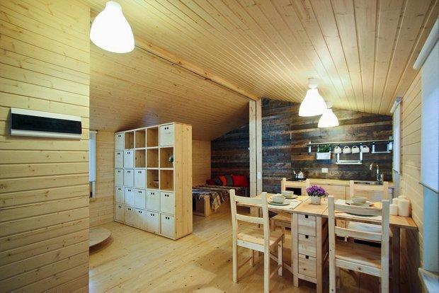 Фотография: Кухня и столовая в стиле Современный, Эко, Дом, Архитектура – фото на INMYROOM