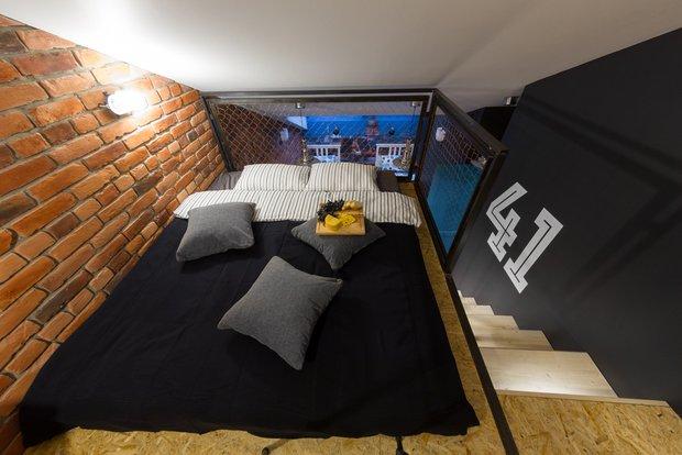 Фотография: Спальня в стиле Лофт, Квартира, Проект недели, Санкт-Петербург, Макс Жуков, ToTaste Studio, 4 и больше, Более 90 метров – фото на INMYROOM
