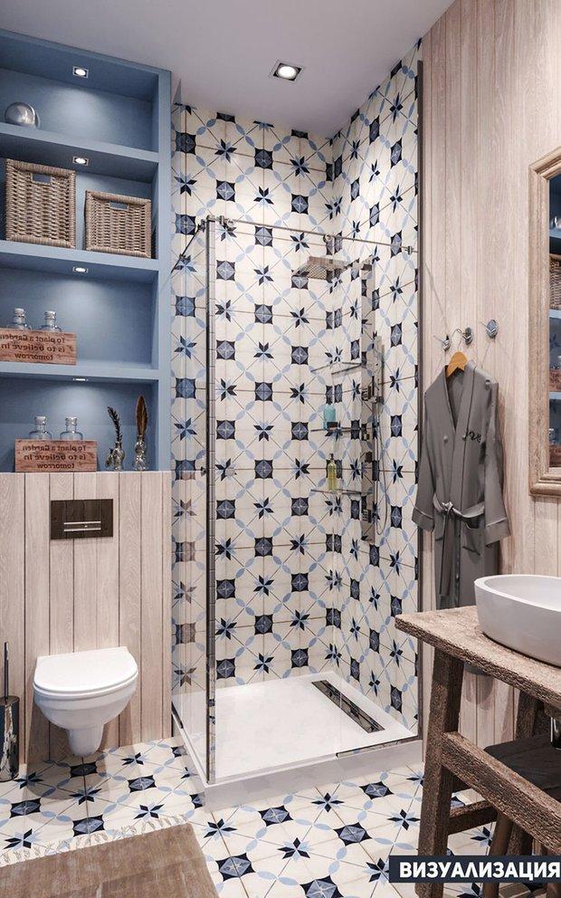 Фотография:  в стиле , Ванная, Ремонт на практике – фото на INMYROOM