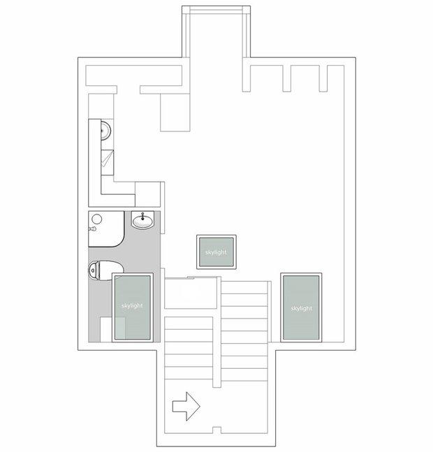 Фотография:  в стиле , Скандинавский, Декор интерьера, Квартира, Студия, Белый, Бежевый, Серый, интерьер мансарды, до 40 метров, Эмма Фишер – фото на INMYROOM