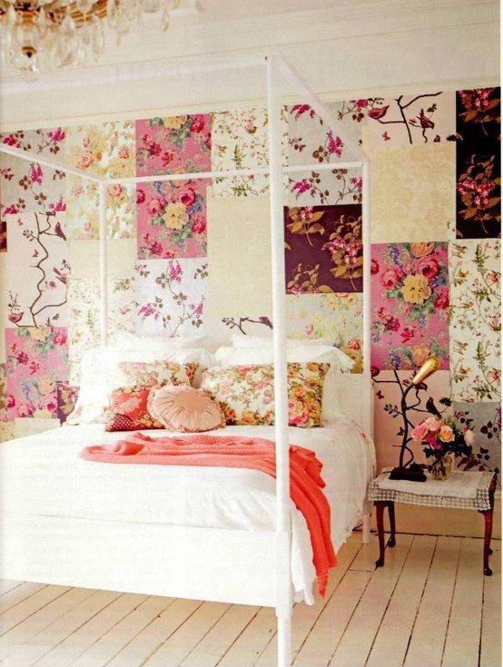 Фотография: Спальня в стиле Прованс и Кантри, Декор интерьера, Текстиль, Декор, Декор дома, Пэчворк – фото на INMYROOM