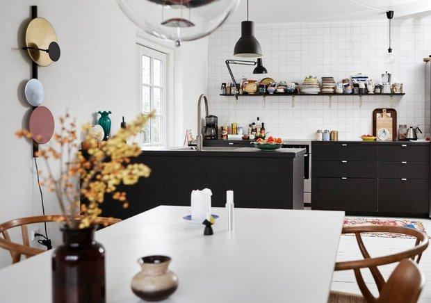 Фотография: Кухня и столовая в стиле Современный, Гостиная, Детская, Декор интерьера, Дом, Дания, ИКЕА, Дом и дача, Более 90 метров – фото на INMYROOM