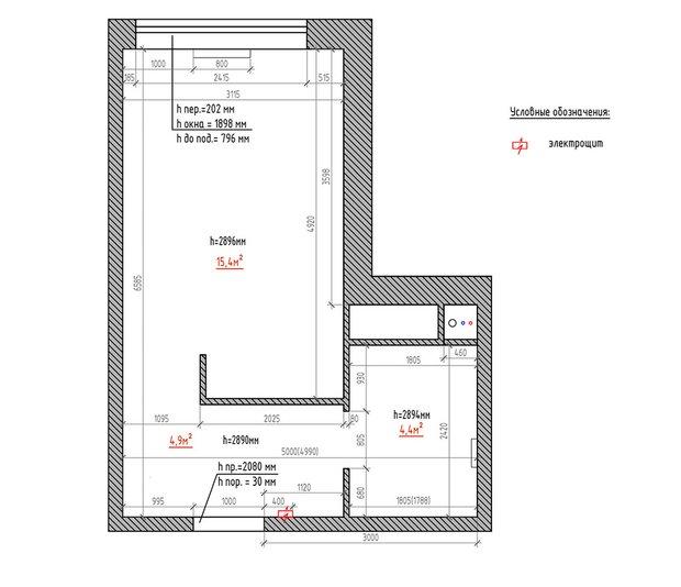 Фотография:  в стиле , Квартира, Студия, Дом, Перепланировка, малогабаритка, до 40 метров, CoolaginDesign, Артем Кулагин – фото на INMYROOM