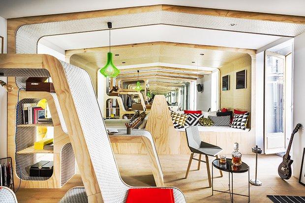 Фотография: Гостиная в стиле Эко, Декор интерьера – фото на INMYROOM