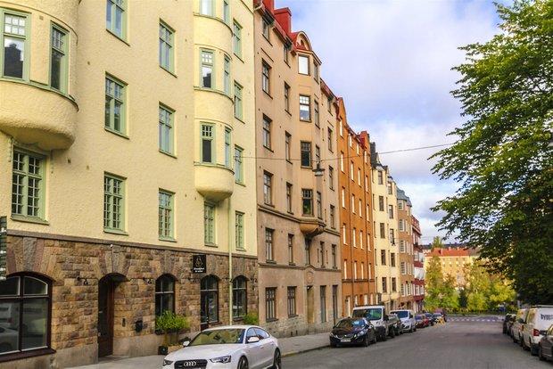 Фотография: Архитектура в стиле , Эклектика, Декор интерьера, Малогабаритная квартира, Квартира, Студия, Швеция, Стокгольм, Серый, до 40 метров – фото на INMYROOM