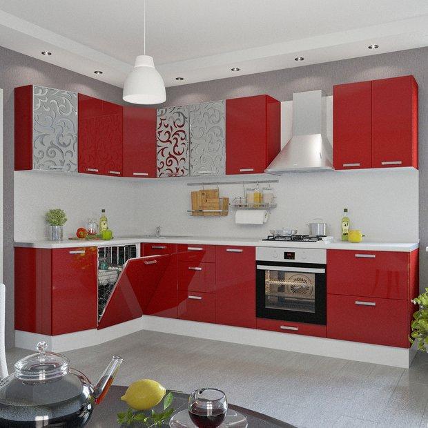 Угловая кухня «Пунш», Leroy Merlin