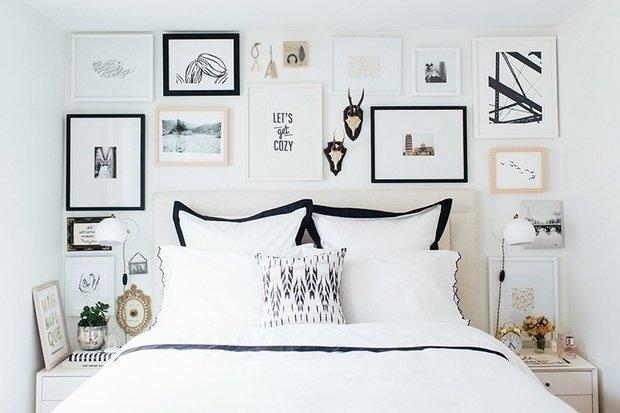 Фотография: Спальня в стиле Скандинавский, DIY, Гид, Quelyd – фото на INMYROOM