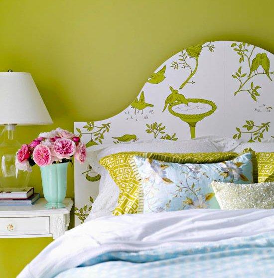 Фотография: Спальня в стиле Прованс и Кантри, Декор интерьера, DIY, Цвет в интерьере – фото на INMYROOM