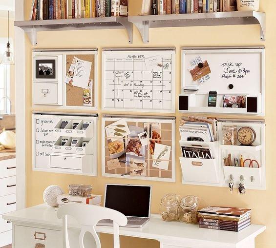 Фотография: Кабинет в стиле Скандинавский, Современный, Интерьер комнат, Системы хранения – фото на INMYROOM